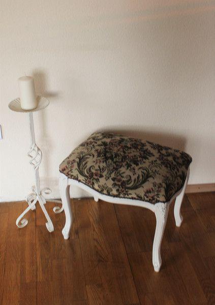 Vintage Möbel - Barock Klavierhocker/Fußhocker - ein Designerstück von Pfaennle bei DaWanda