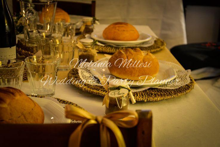 Dettagli country Allestimenti ... Wedding e Party Planner Catania Melania Millesi http://www.melaniamillesi.it/