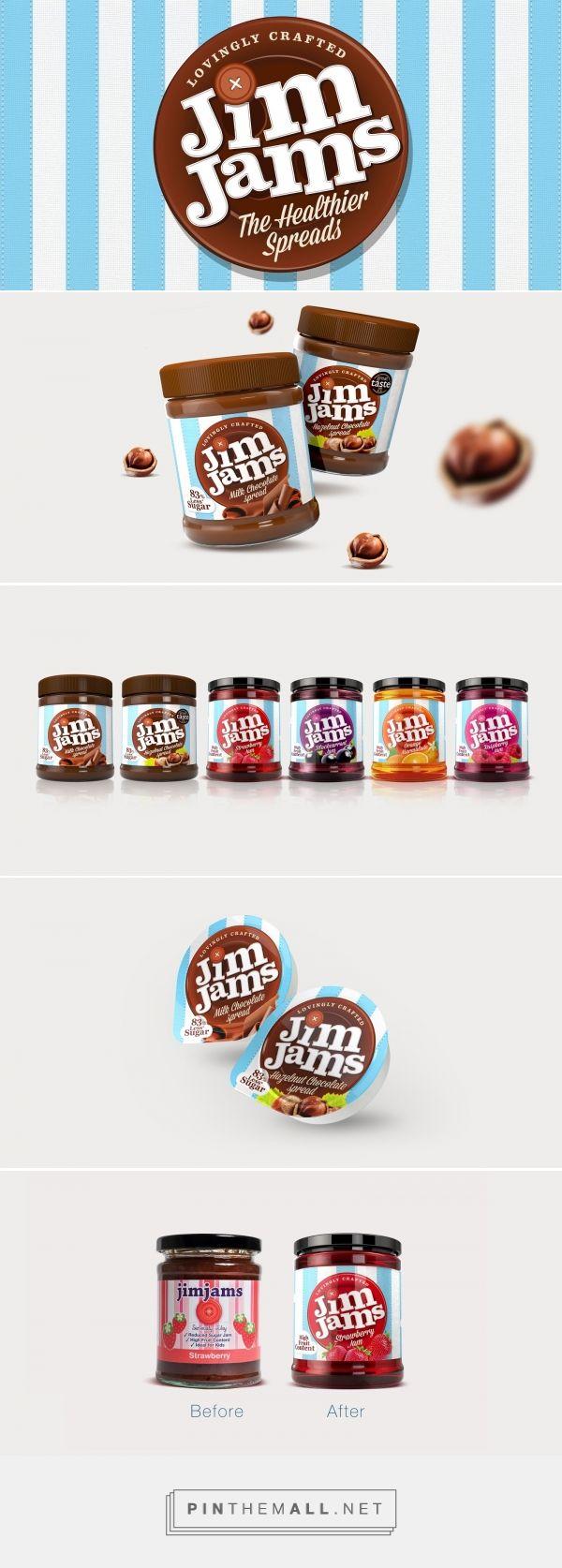 Lovely redesign of JimJams packaging  by Design Happy UK - http://www.packagingoftheworld.com/2016/07/jimjams.html