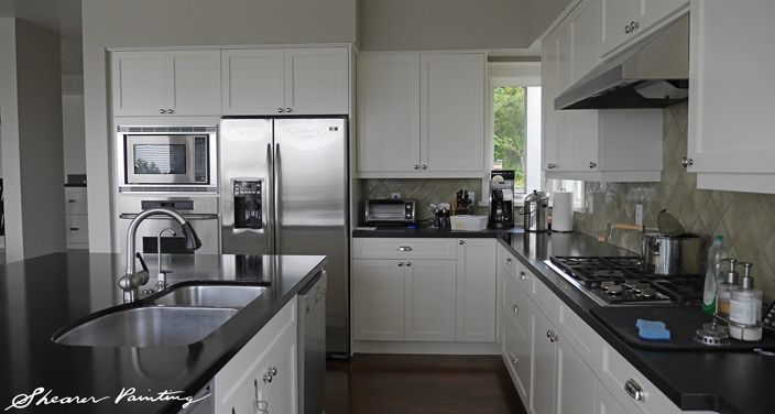 Painted Kitchen Cabinets Seattle Read More Forward Painted Kitchen