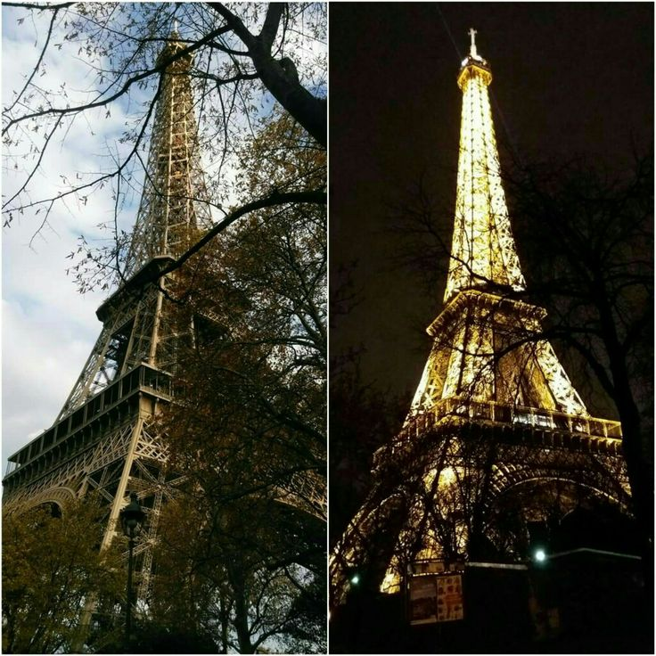 Day or Night.. Its always shining bright. Plan for an early morning visit of Eiffel  followed by other nearby attractions. Do come back in the eve for the night view of this gorgerous tower.