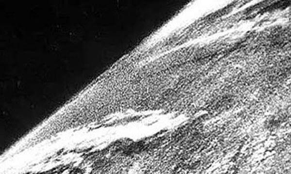 primer foto tomada desde el espacio en 1946