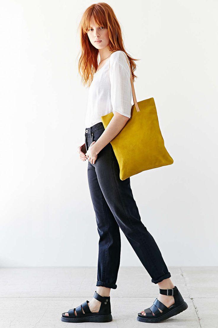 Kate Sheridan Suede Tote Bag
