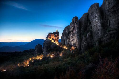 Meteora, GreecePhotos, Favorite Places, Colors, Elias Locardi, Meteora Greece, Twilight Monastery, Rocks, Photography Blog, Travel Photography