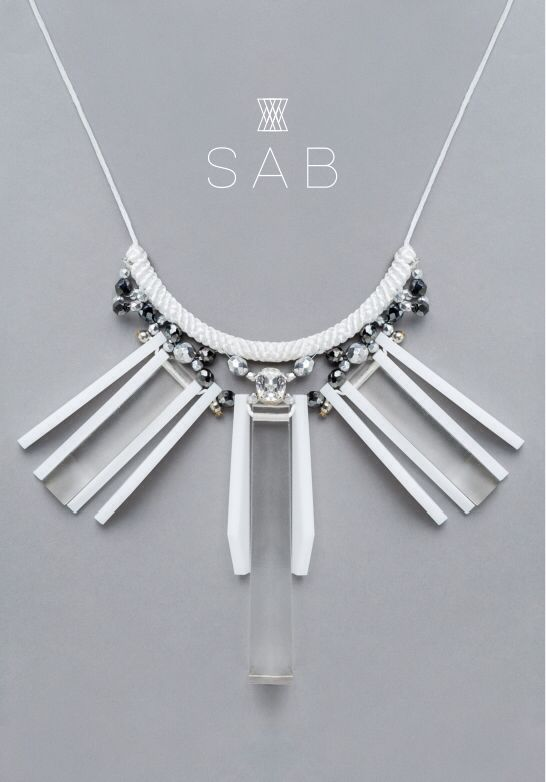 facebook.com/thesabstyle Instagram: s_a_b_official Angel, wild, water, fashion, style, love, white angel, trend, handmade necklace