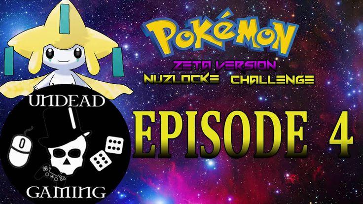 Let's Play Pokemon Zeta Nuzlocke Challenge - Episode 4: Training for the First Gym