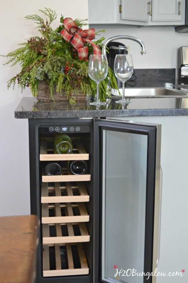 17 Best Ideas About Built In Wine Cooler On Pinterest Built In Bar Cabinet Built In Wine Rack