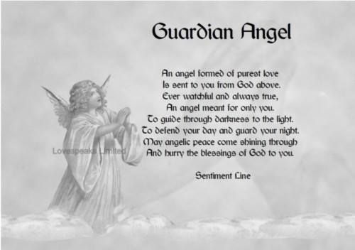 how to feel your guardian angel