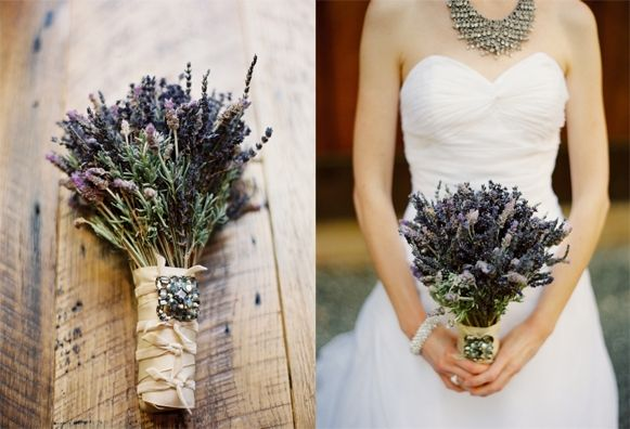 Irish Wedding Tradition - English lavender, an ancient symbol of love, loyalty, devotion and even luck is often mixed with the bride's wedding flowers to help insure a happy and long-lasting union