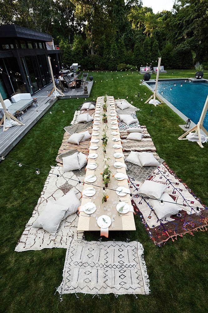 Decoração de mesa para ocasiões especiais