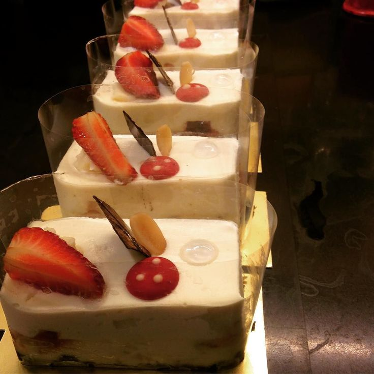 Try this new dessert at the Lavonne pastry shop.  Caramelized white chocolate cheesecake with vanilla mousse and Pate de fruit.  #Lavonne #eatthis #chefsatlavonne