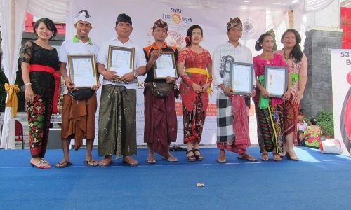 1st Winner of Penjor Competition