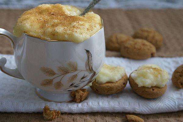 milk tart cups- melk tert koppies