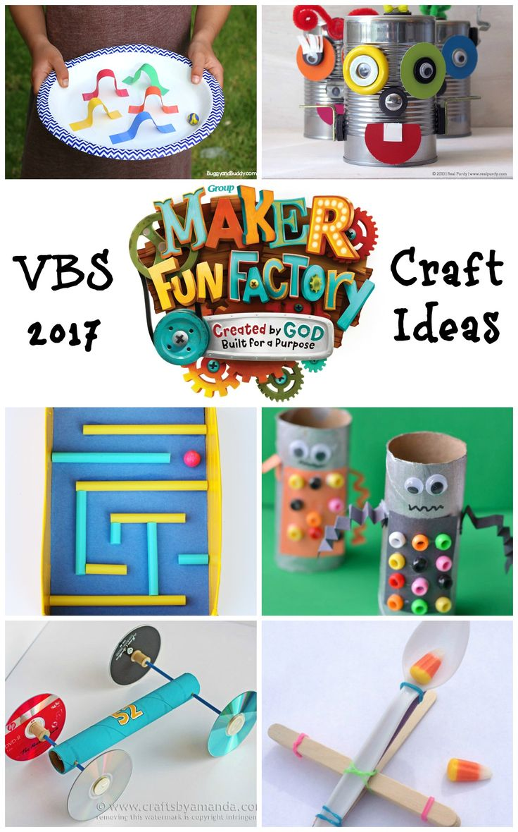 Exceptional Vacation Bible School Crafts For Kids Part - 9: Maker Fun Factory VBS Craft Ideas