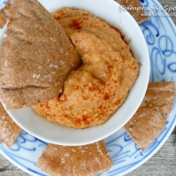 Lucky Red Lentil Dip by SumptuousSpoonfuls