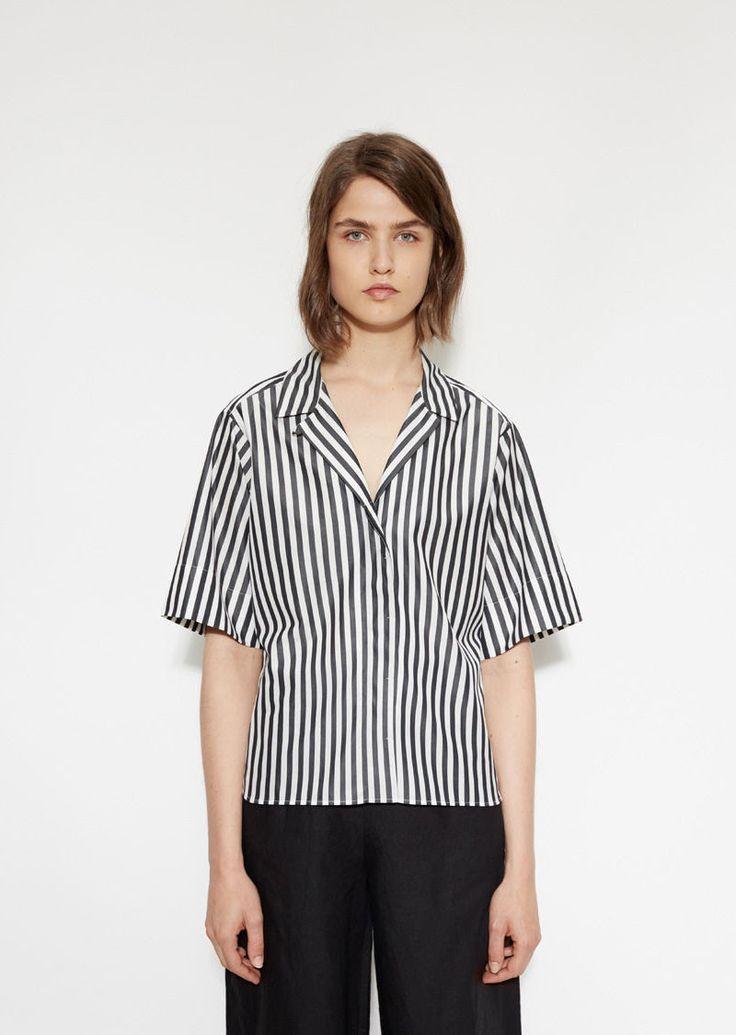 Wide Sleeve Rever Shirt