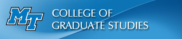 College of Graduate Studies at Middle Tennessee State University, MS. Equine Studies Education