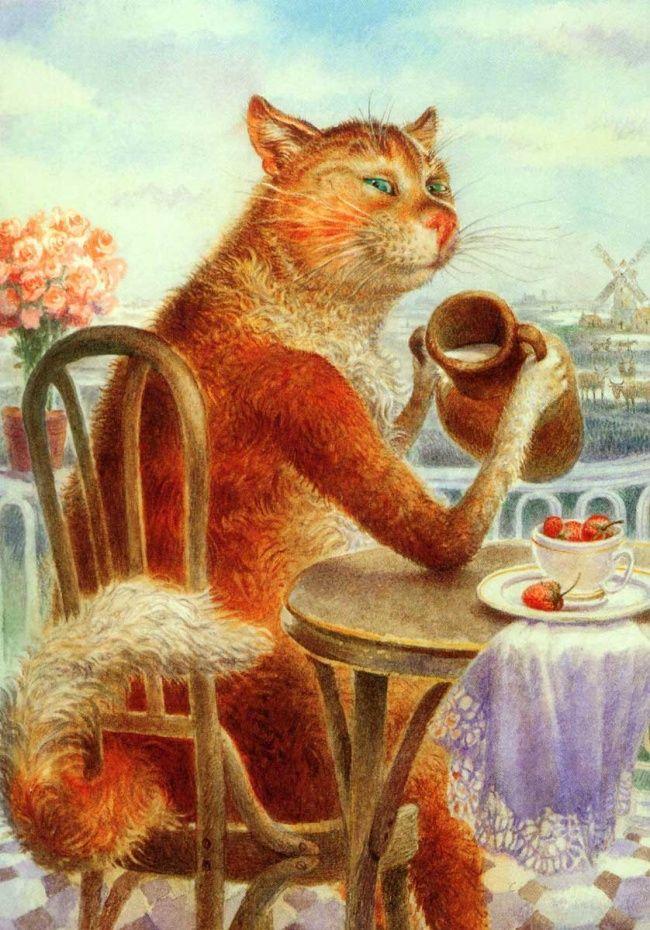 Открытки с питерскими котами владимира румянцева, лапуля открытки маме
