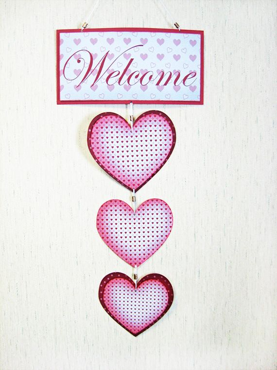 Hanging Heart Wall Decor : Best heart decor images on hanging hearts