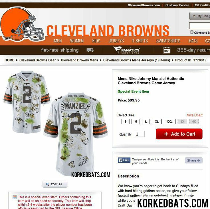 ... Cleveland Browns reveal new Johnny Manziel jersey for week 1 VS  Steelers. d551d37ec