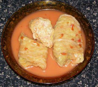 W Mojej Kuchni Lubię.. : szybkowar-gołąbki indycze na ostro w sosie pomidor...