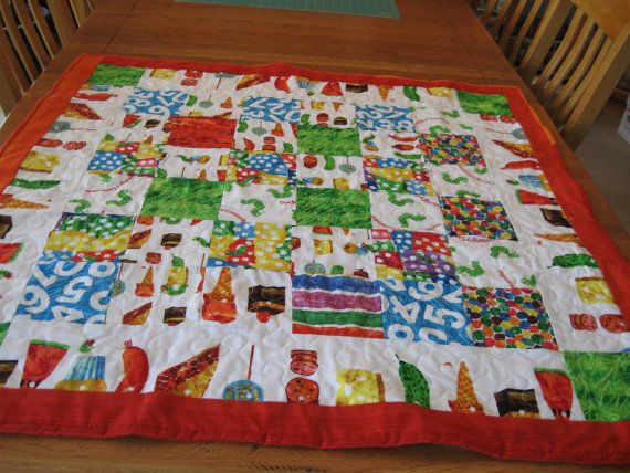 30 best Hungry little caterpillar images on Pinterest | Baby ... : caterpillar quilt pattern - Adamdwight.com