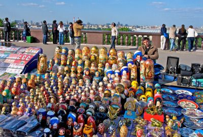 Matryoshka dolls in Moscow, Russia