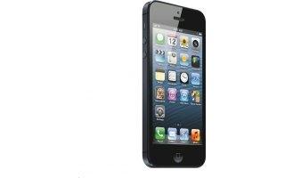 """Nejočekávanější mobilní telefon současnosti je tu! Apple iPhone 5 s hmotností pouhých 112 gramů a překvapivě větším 4"""" RETINA displejem. Displej je multidotykový, má rozlišení 1136 x 640 pixelů. Baterie a slibuje až 8 hodin hovoru (10 hodin přehrávání videa). Samozřejmostí ve výbavě je dvojice fotoaparátů, které zaručují kvalitní pořizování fotek. Zadní kamera o rozlišení 8Mpx s funkcí autofocus a bleskem nemá problém fotit panoramatické fotografie a natáčení videa v kvalitě 1080p."""