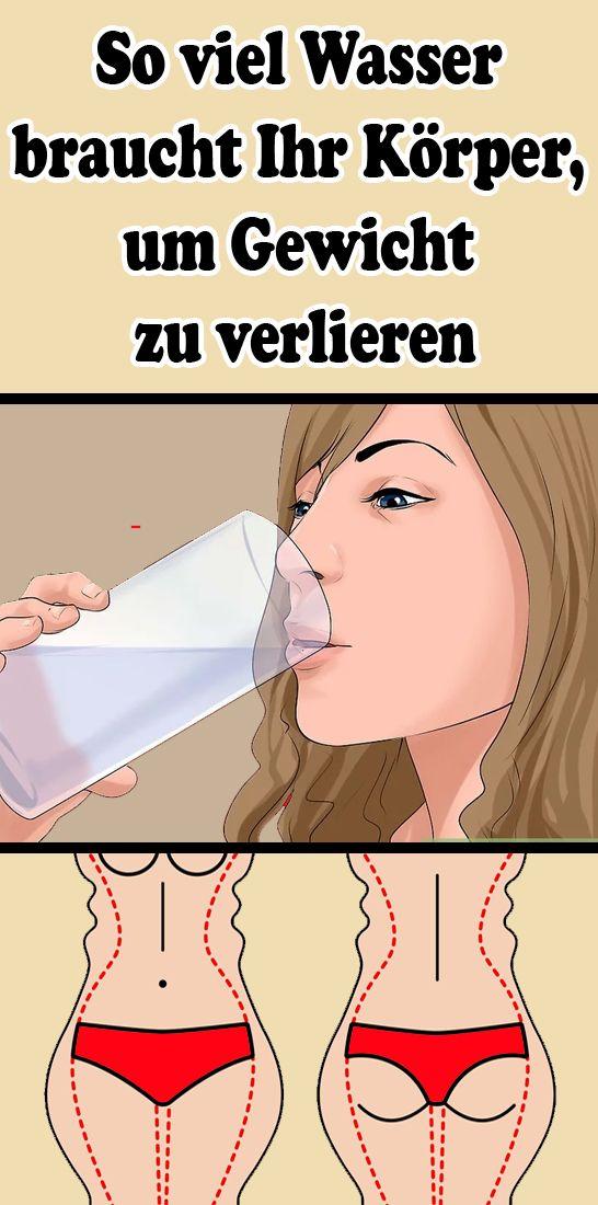 So viel Wasser braucht Ihr Körper, um Gewicht zu verlieren – Silvia Schönauer