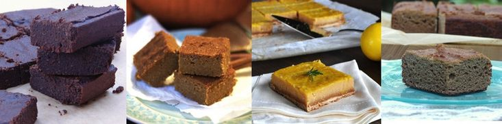 Coconut Flour Recipes for Bars and Brownies