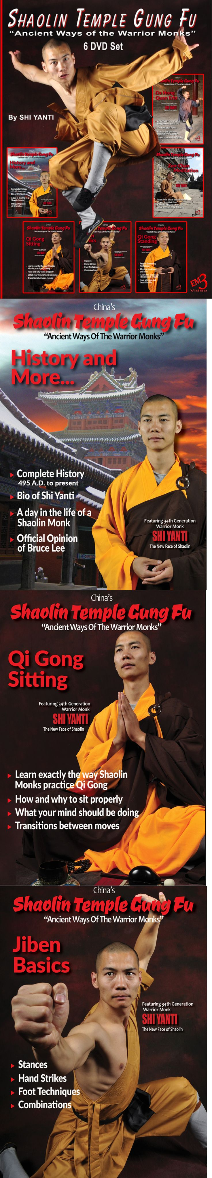 The Art of Shaolin Kung Fu: The Secrets of Kung Fu for ...