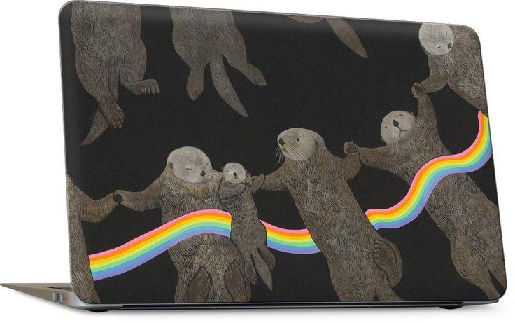 Otter Rings Laptop Skin