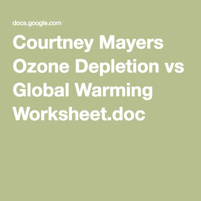 17 best ideas about ozone depletion on pinterest ozone layer ozone layer hole and 5th grade. Black Bedroom Furniture Sets. Home Design Ideas