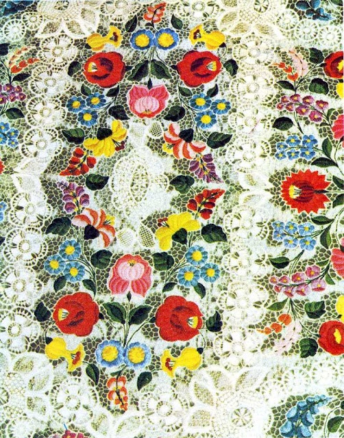 talking about Magyar embroidery