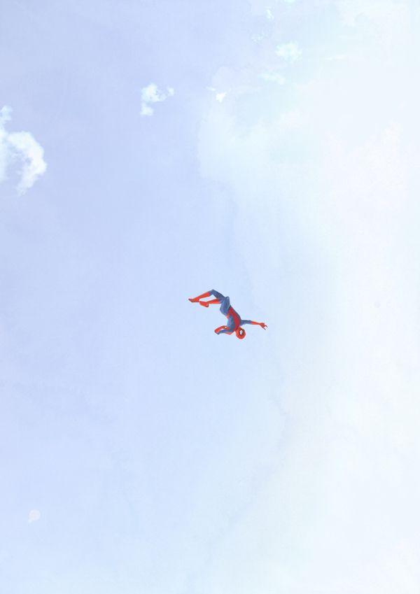 A solidão dos super-heróis, por Belhoula Amir