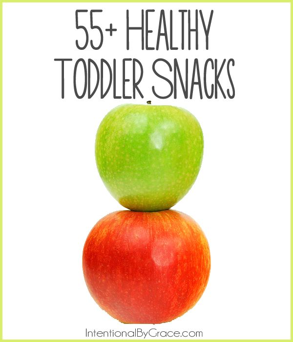 55 toddler snacks - score!