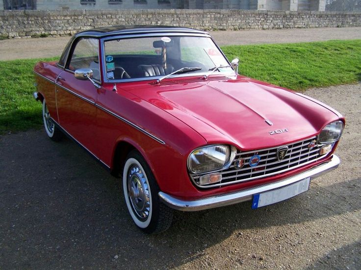 c.1966 PEUGEOT 204 CABRIOLET WITH HARDTOP - designed by Carrozzeria Pinin Farina of Turin.