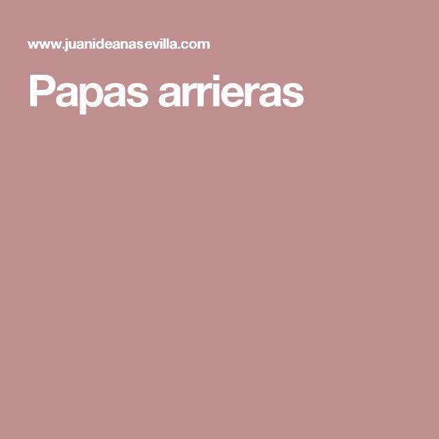 Papas arrieras