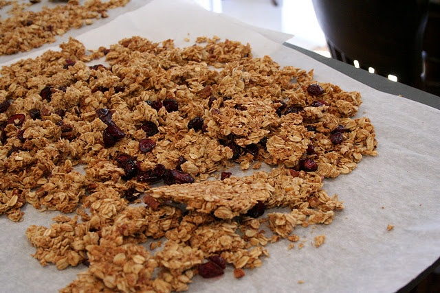 Cranberry-Orange Granola - this one looks close to the bakery kind I ...