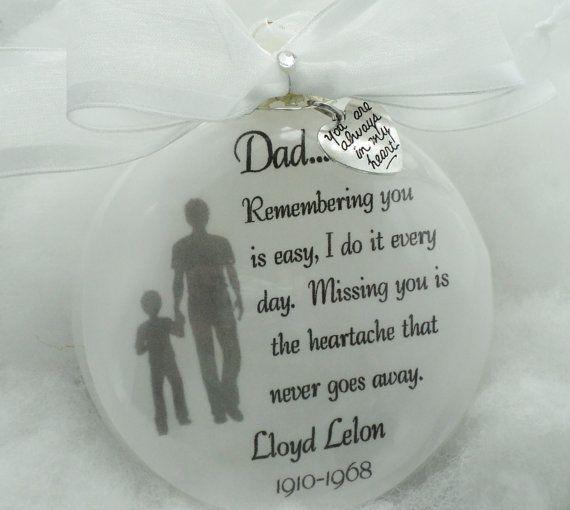 Best 25+ Memorial ornaments ideas on Pinterest   Custom christmas ...