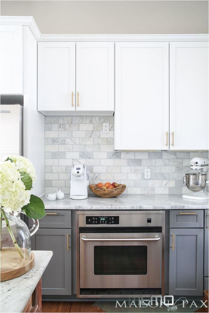 Mar 22 2017 In Late Summer 2015 We Moved From Our 1940 Fixer Upper Colonial In The Ci Kitchen Backsplash Trends Kitchen Cabinets Decor Grey Kitchen Designs