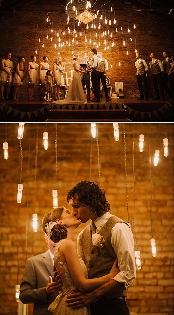 Aisle Style – 20 Beautiful Wedding Ceremony Lighting Ideas