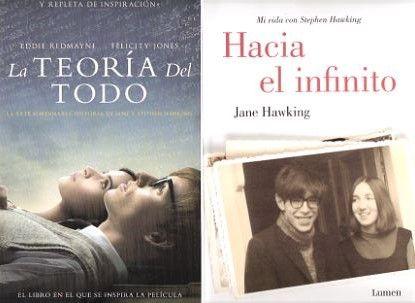 La primera esposa de Stephen Hawking narra la historia de los veinte años que vivieron juntos desvelando la fuerza con la que unos de los científicos más importantes de la actualidad asumió su enfermedad y las dificultades de su matrimonio. Hacia el infinito / Jane Hawking. Consultar disponibilidad del ejemplar http://absys.asturias.es/cgi-abnet_Bast/abnetop?TITN=945339#1