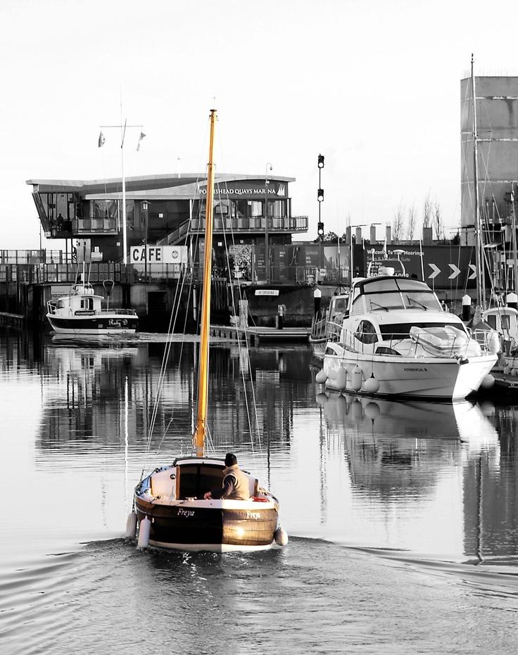 Portishead marina by Kevin Harrington