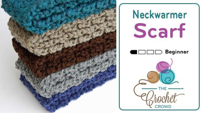 Crochet Neck Warmer Scarf for Operation Gratitude http://thecrochetcrowd.com/