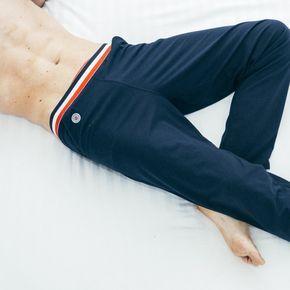 Pantalon de Pyjama Bleu pour Homme - Le Slip Français