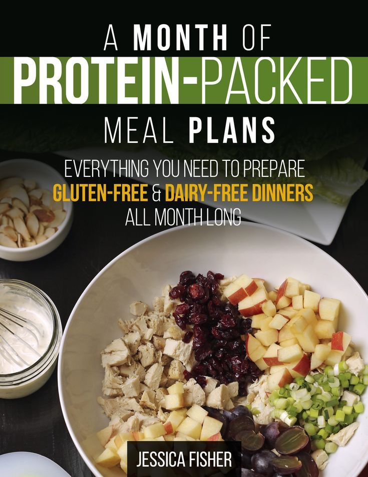 A Month of Protein-Packed Meal Plans - EVERYTHING you need to prepare gluten- and dairy-free dinners all month long! #paleo #whole30 #glutenfree