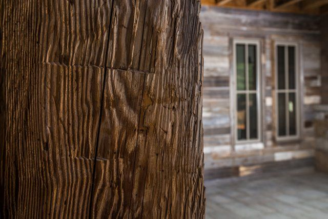 L & L Reclaimed Wood LLC. Beams and siding.