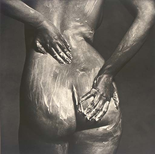 Irving Penn, Bathing Nude: Soaping Rear (A), New York, 1978