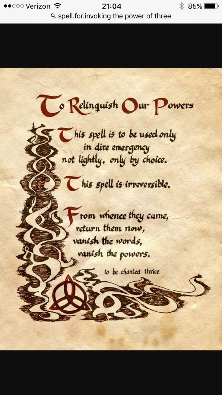 Book Of Shadows Menu Polyvore Third Charmed